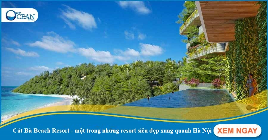 Ngắm không biết chán 3 resort siêu đẹp xung quanh Hà Nội