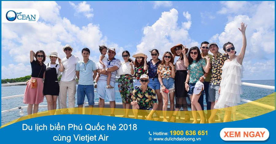 Cách đặt vé máy bay Vietjet Air qua mạng đi Phú Quốc tại Du lịch Đại Dương