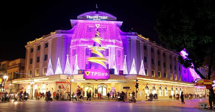 Cùng tìm kiếm những địa điểm đẹp nhất để đón Giáng sinh tại Hà Nội