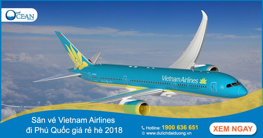Hướng dẫn mua vé máy bay giá rẻ Vietnam Airlines dịp hè 2018