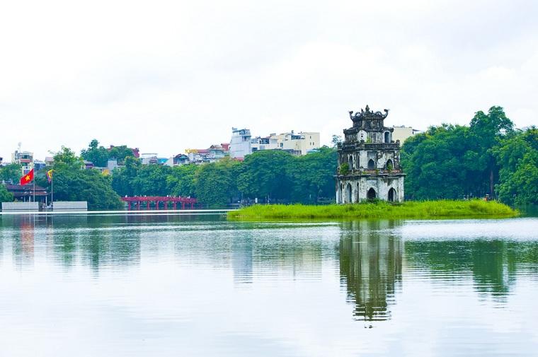 Mua vé máy bay đi Hà Nội giá rẻ để khám phá Hồ Gươm