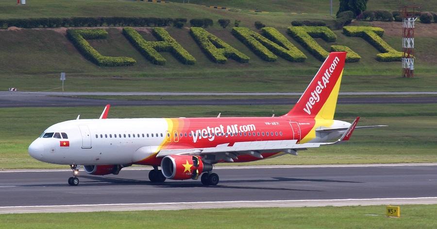 VietJet khai thác các chuyến bay quốc tế đến nhà ga T4 ở sân bay Changi (Singapore)