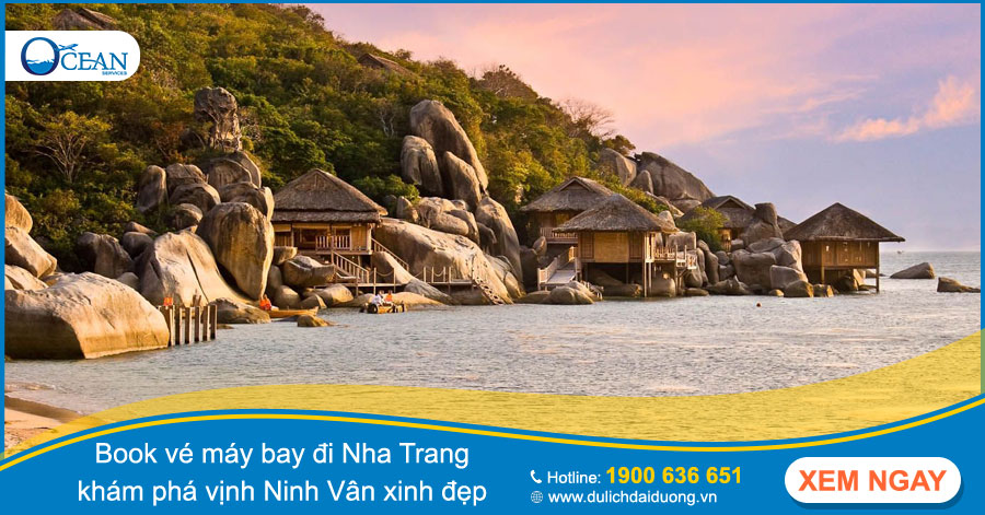 Book vé máy bay đi nha trang giá rẻ từ Hà Nội và Sài Gòn