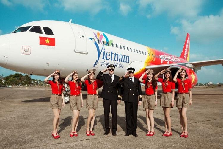 Máy bay Vietjet Air