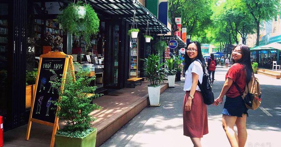 Phố sách Nguyễn Văn Bình - con phố độc đáo tại Sài Gòn