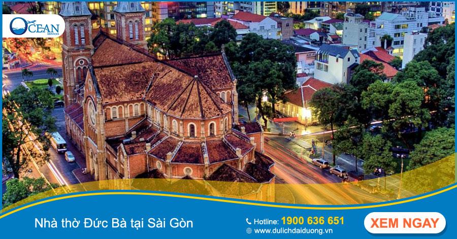 Sài Gòn là một điểm du lịch mang những nét đối lập với thành phố ngàn hoa Đà Lạt