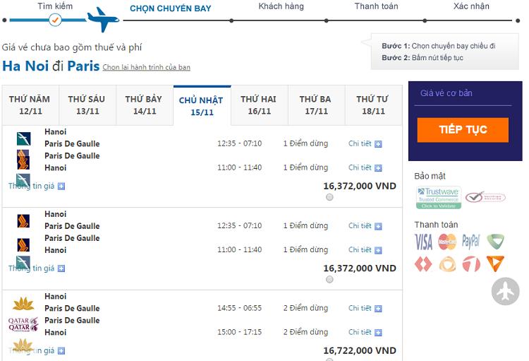 giá  vé máy bay đi Anh