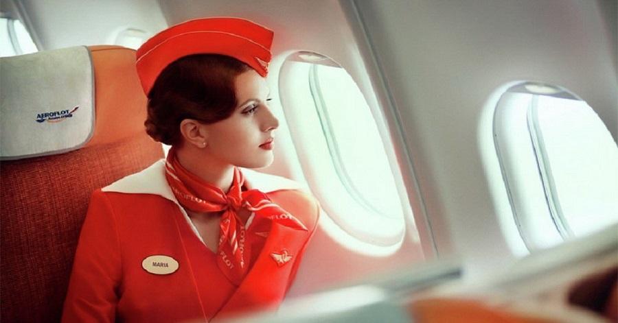 Tiếp viên hàng không của Aeroflot Russian Airlines