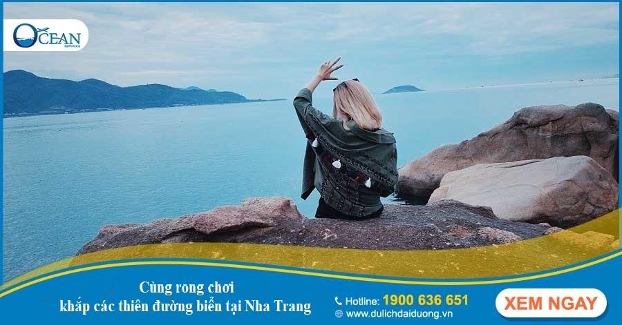 Rong chơi khắp thiên đường biển cùng vé máy bay Hanoi Nha Trang