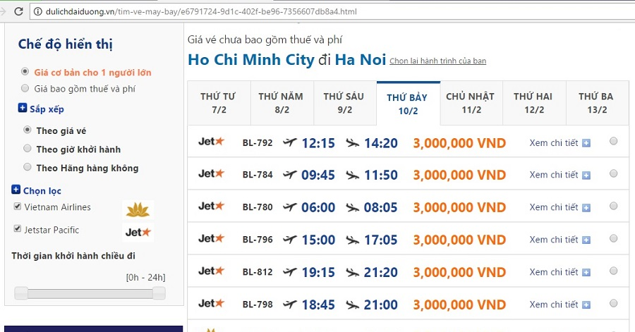 Đặt ve may bay ngay 25 tet tại dulichdaiduong.vn