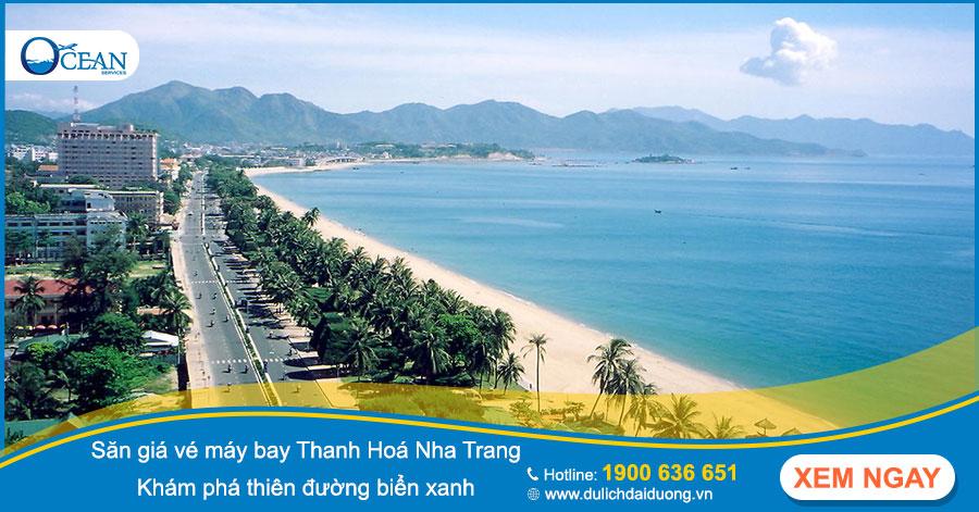 Sở hữu ngay giá vé máy bay Thanh Hoá Nha Trang rẻ chỉ từ 399.000 VNĐ