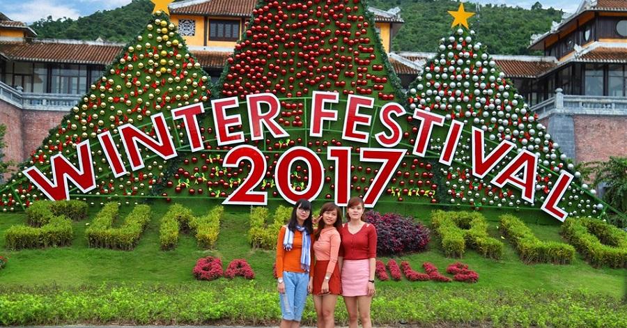 Đón Giáng sinh 2017 đầy thú vị trên đỉnh Bà Nà