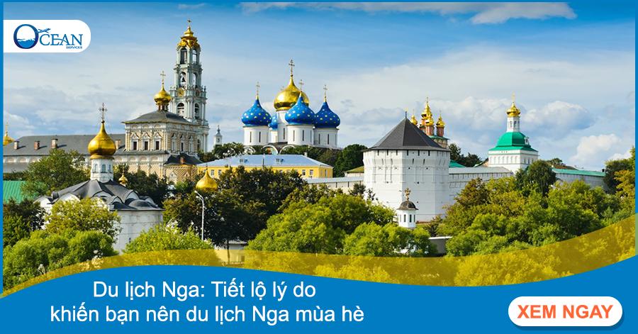 Du lịch Nga: Tiết lộ lý do khiến bạn nên du lịch Nga mùa hè