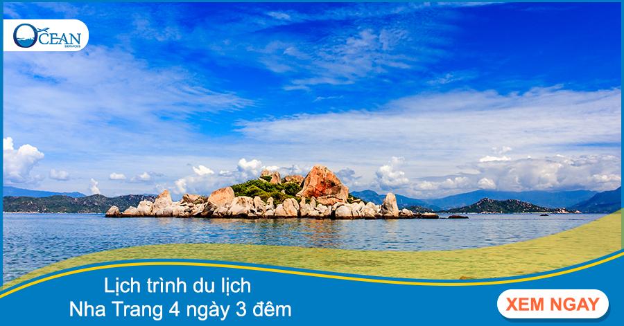 Lịch trình du lịch Nha Trang 4 ngày 3 đêm