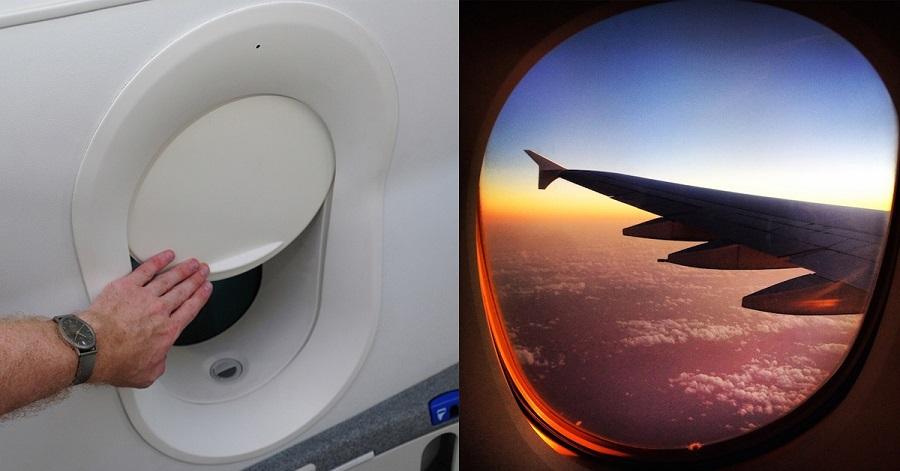 Tại sao phải mở màn cửa sổ máy bay khi cất cánh và hạ cánh?