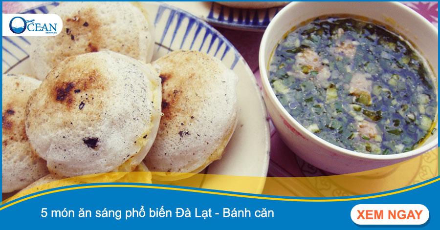 5 món ăn sáng phổ biến Đà Lạt - Bánh căn