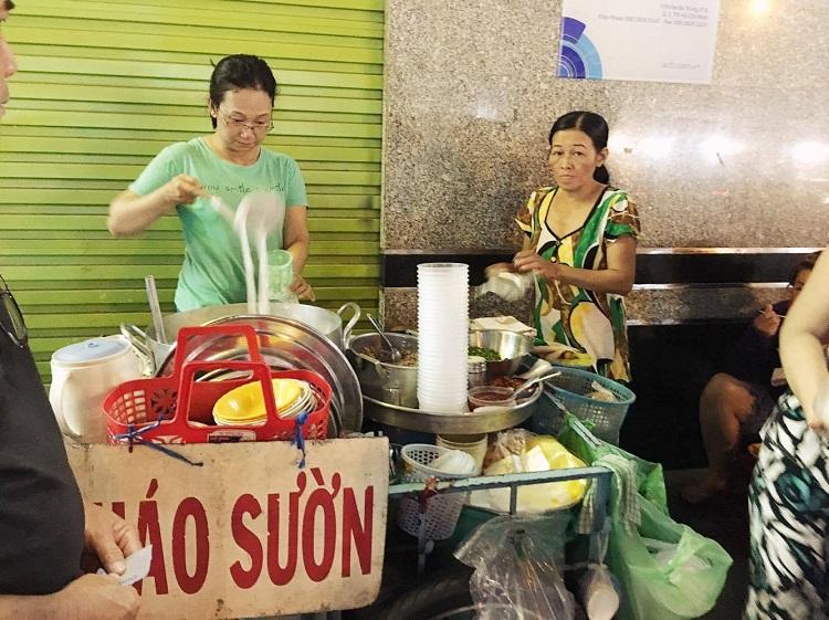 Cháo sườn - Chợ Tân Định