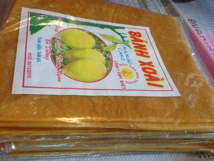 Đặc sản Nha Trang: Bánh xoài