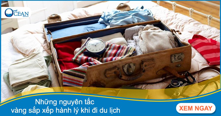 Những nguyên tắc vàng sắp xếp hành lý khi đi du lịch