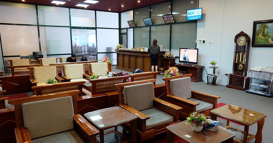 Phòng chờ Hạng thương gia nhà ga T2 sân bay Nội Bài