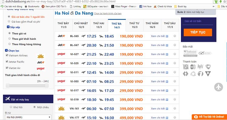 Giá vé của Vietnam Airlines thường đắt hơn so với VietJet Air và Jetstar Pacific