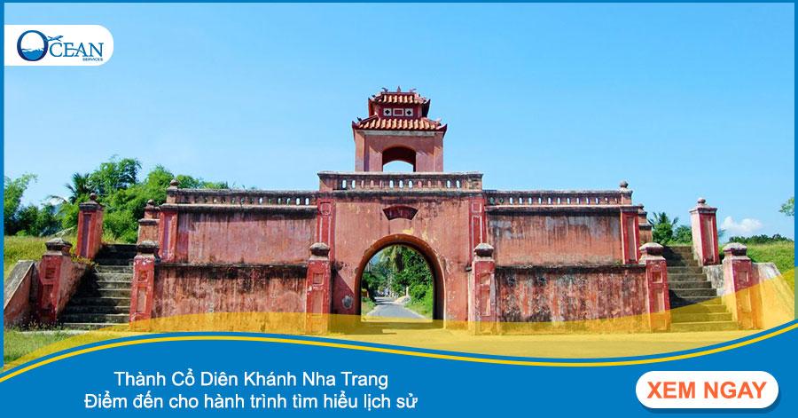Thành Cổ Diên Khánh Nha Trang - Điểm đến cho hành trình tìm hiểu lịch sử