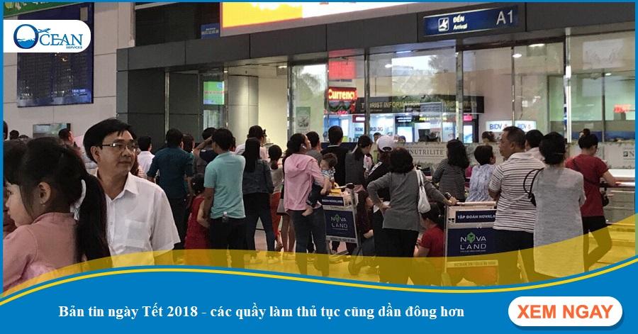 Bản tin ngày 25 Tết 2018: tình trạng tắc nghẽn giao thông ngày Tết tại Sài Gòn