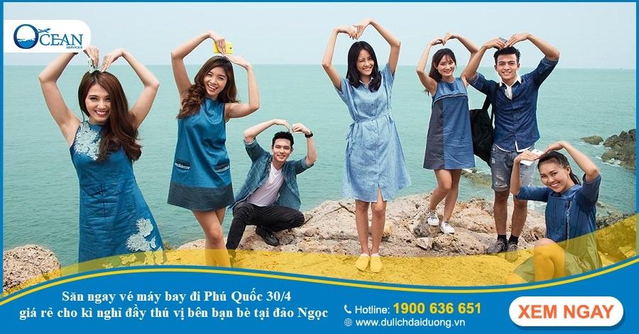"""Những bí kíp """"thần thánh"""" giúp bạn săn vé máy bay đi Phú Quốc 30/4 giá rẻ"""
