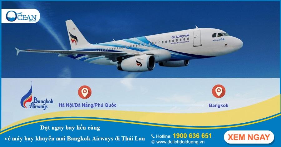 vé máy bay khuyến mãi đi Thái Lan