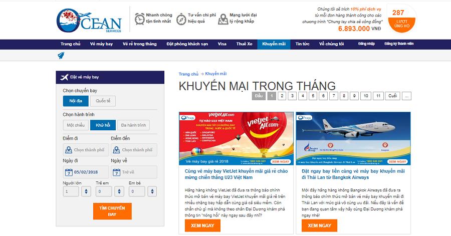 Theo dõi mục Khuyến mãi của dulichdaiduong.vn để cập nhật thông tin vé máy bay đi Phú Quốc giá rẻ