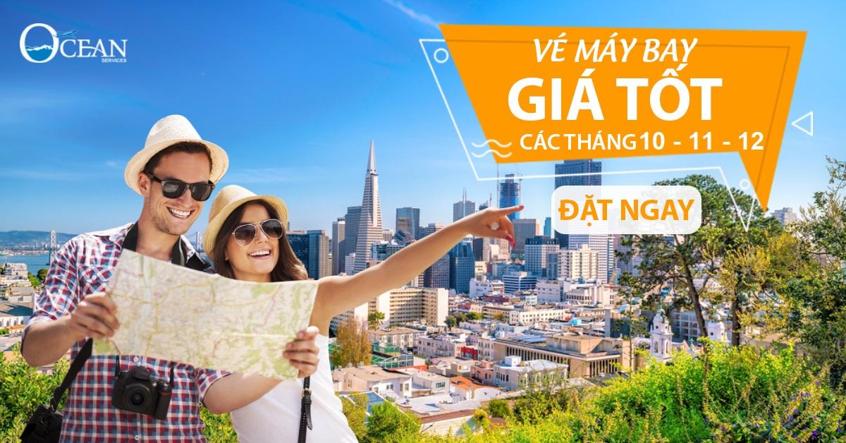 Cập nhật ngay – đặt liền tay vé máy bay khuyến mãi Vietnam Airlines tháng 10 – 11  – 12/2017