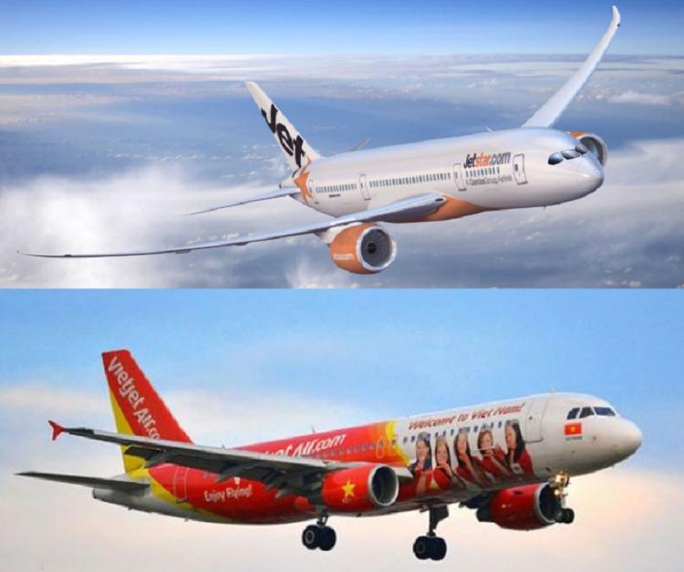 Vé máy bay giá rẻ thường được mở bán bởi VietJet và Jetstar